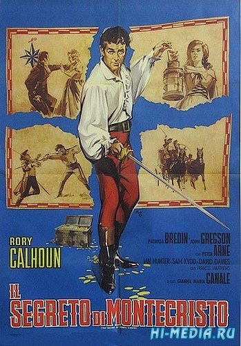 Секрет Монте-Кристо / The Secret of Monte Cristo (1961) DVDRip