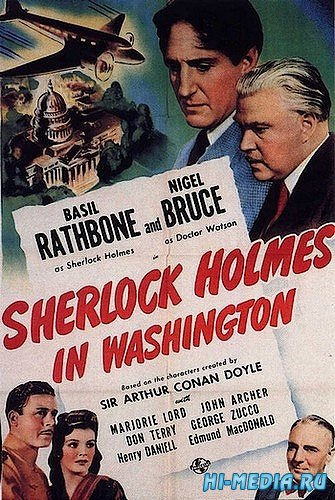 Шерлок Холмс в Вашингтоне / Sherlock Holmes in Washington (1943) BDRip
