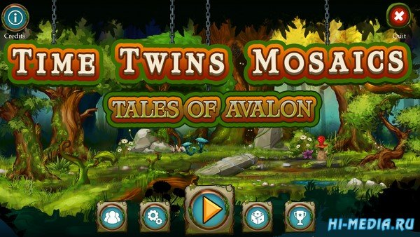 Time Twins Mosaics 3: Tales of Avalon (2019) ENG