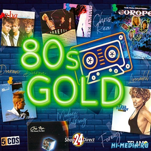VA - 80s Gold 5 CD (2019) MP3