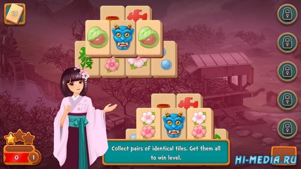 Mahjong Fest: Sakura Garden (2019) ENG