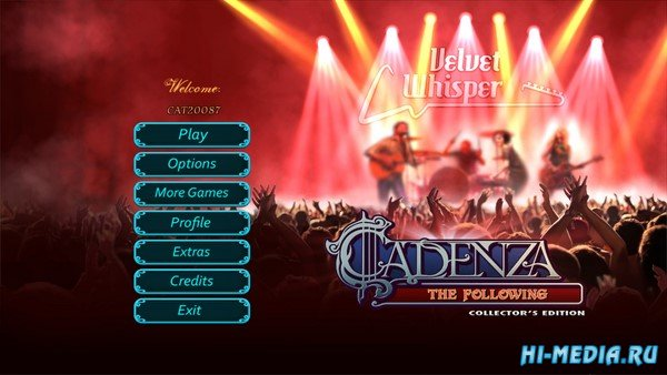 Cadenza 6: The Following Collectors Edition (2019) ENG