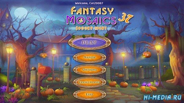 Fantasy Mosaics 37: Spooky Night (2019) ENG