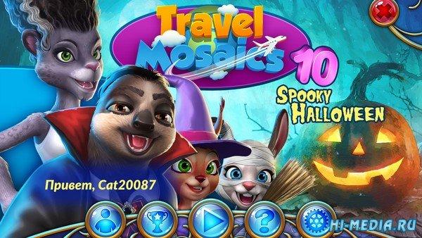 Travel Mosaics 10: Spooky Halloween (2019) RUS