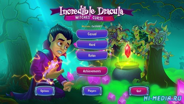 Incredible Dracula 7: Witches' Curse (2019) ENG