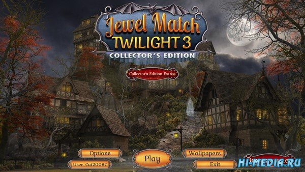 Jewel Match Twilight 3 Collector's Edition (2019) ENG