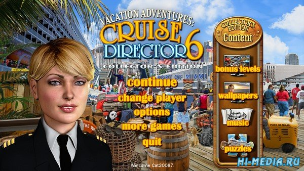 Vacation Adventures: Cruise Director 6 Collector's Edition (2019) ENG