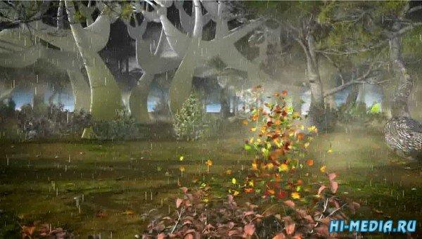 Осень танцует (Музыкальная открытка)