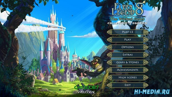 Elven Legend 8: The Wicked Gears Collectors Edition (2019) ENG