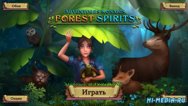 Adventure Mosaics: Forest Spirits (2019) RUS