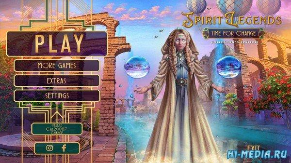 Spirit Legends 3: Time for Change Collectors Edition (2019) ENG