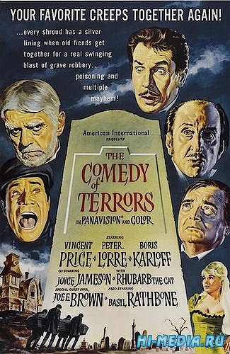Комедия ужасов / The Comedy of Terrors (1963) DVDRip
