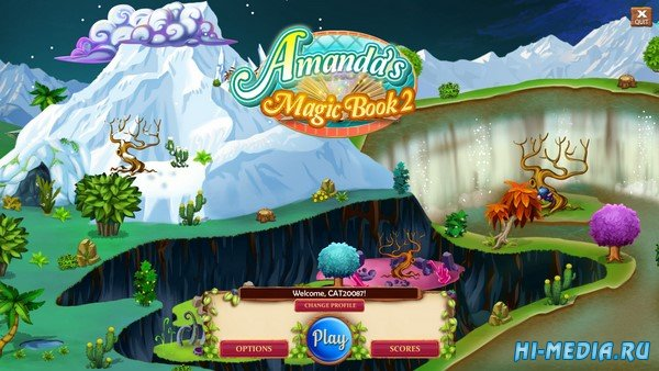 Amanda's Magic Book 2 (2020) ENG
