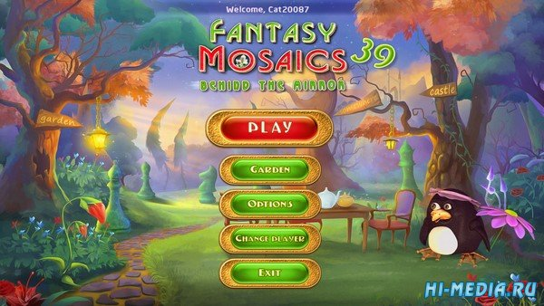 Fantasy Mosaics 39: Behind the Mirror (2020) ENG