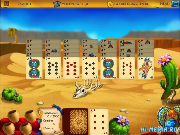 The Artifact of the Pharaoh Solitaire (2020) ENG