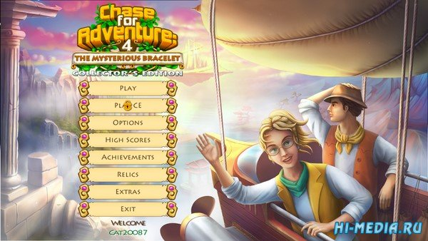 Chase for Adventure 4: The Mysterious Bracelet Collectors Edition (2020) ENG