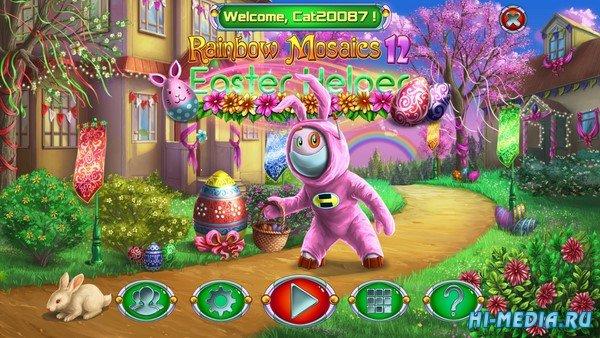 Rainbow Mosaics 12: Easter Helper (2020) ENG