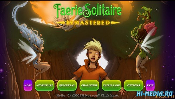 Faerie Solitaire 2: Remastered (2020) ENG