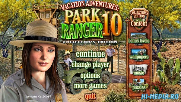 Vacation Adventures: Park Ranger 10 Collectors Edition (2020) ENG