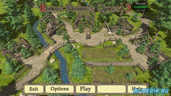 Rune Stones Quest 3 (2020) ENG