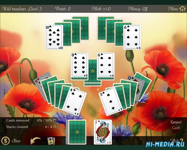 Solitaire: Beautiful Garden Season (2019) ENG