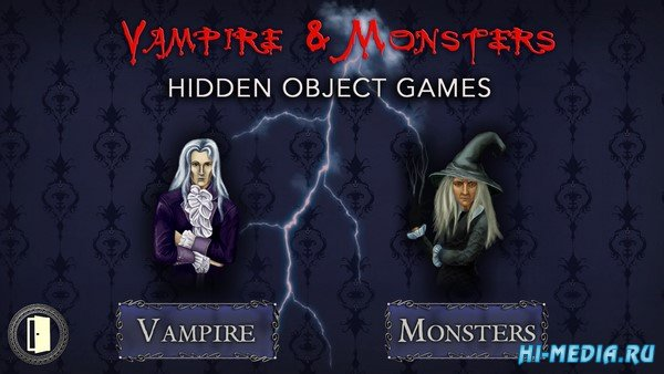 Vampire & Monsters: Hidden Object Games (2019) RUS