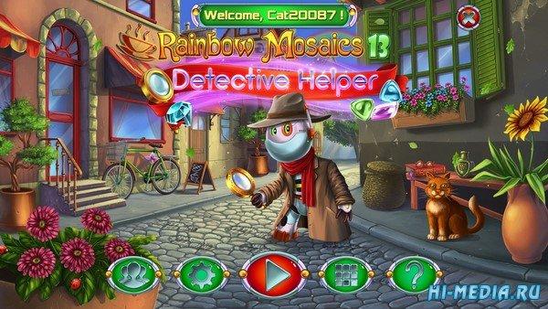 Rainbow Mosaics 13: Detective Helper (2020) ENG