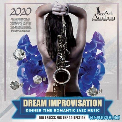 VA - Dream Improvisation: Romantic Jazz Music (2020) MP3