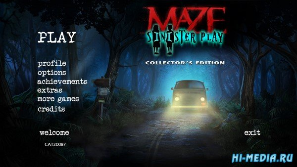 Maze 5: Sinister Play Collectors Edition (2020) ENG