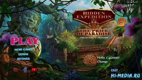 Hidden Expedition 19: The Price of Paradise Collectors Edition (2020) ENG