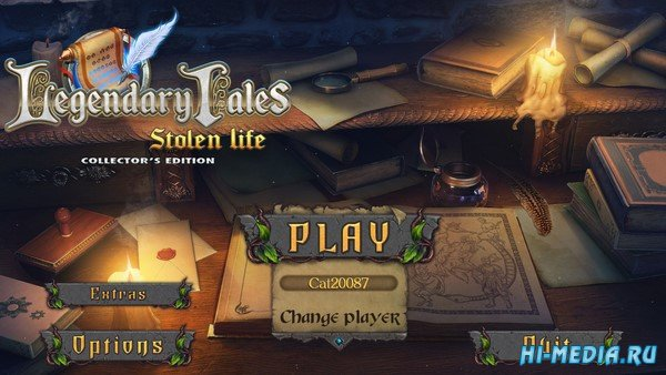 Legendary Tales: Stolen Life Collectors Edition (2020) ENG