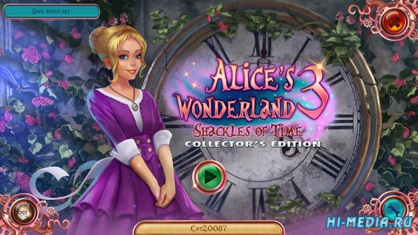 Alice's Wonderland 3: Shackles of Time Collectors Edition (2020) RUS