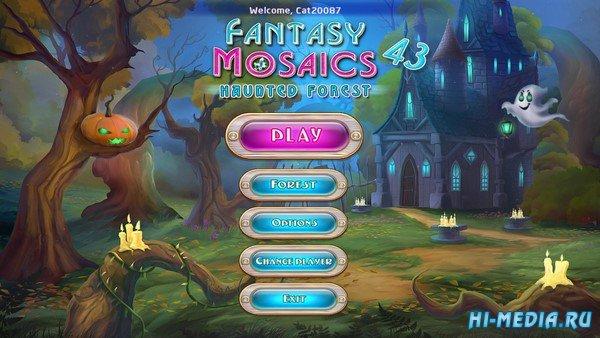 Fantasy Mosaics 43: Haunted Forest (2020) ENG