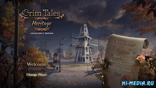 Grim Tales 19: Heritage Collectors Edition (2020) ENG