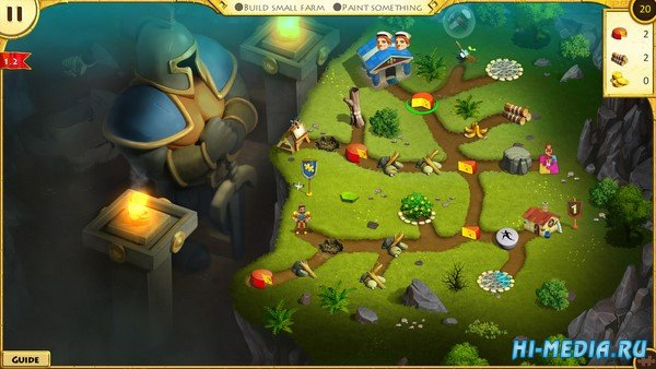 12 Labours of Hercules XI: Painted Adventure Collector's Edition (2020) RUS