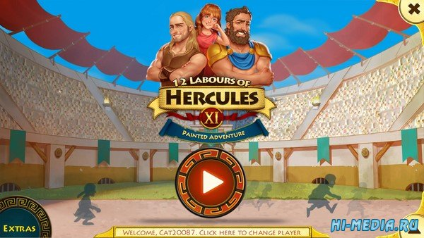 12 Labours of Hercules XI: Painted Adventure Collector's Edition (2020) ENG