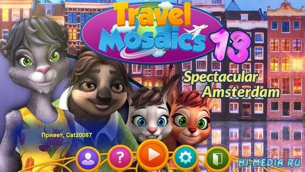 Travel Mosaics 13: Spectacular Amsterdam (2020) RUS