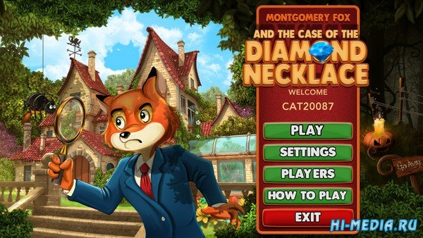 Montgomery Fox and the Case of the Diamond Necklace (2020) ENG