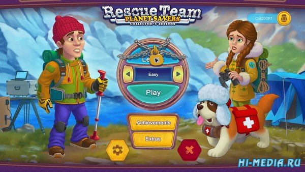 Rescue Team 11: Planet Savers Collector's Edition (2020) ENG