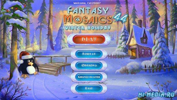Fantasy Mosaics 44: Winter Holiday (2020) ENG