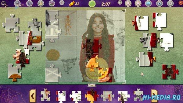 Sweet Holiday Jigsaws: Halloween Night (2020) ENG