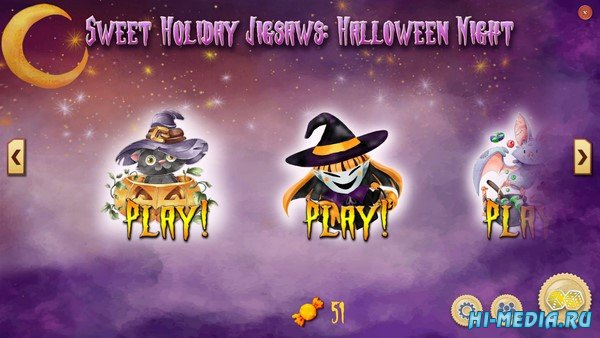 Sweet Holiday Jigsaws: Halloween Night (2020) ENG