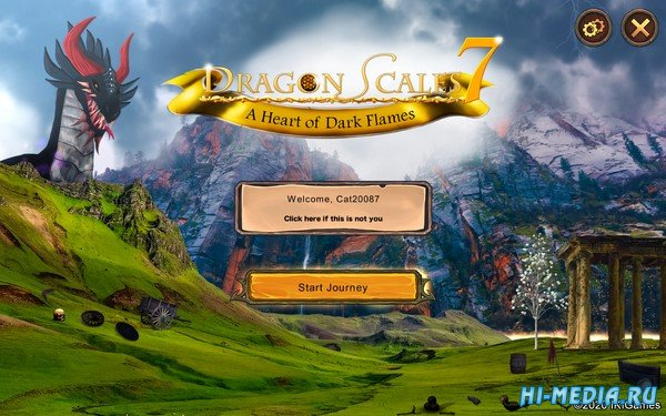 Dragon Scales 7: A Heart of Dark Flames (2020) ENG