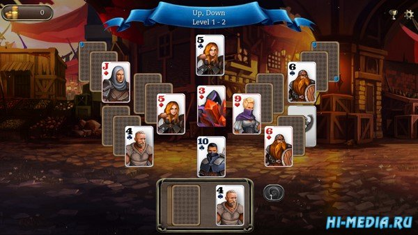 Ember Knight Solitaire (2020) ENG