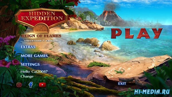 Hidden Expedition 20: Reign of Flames Collectors Edition (2020) ENG