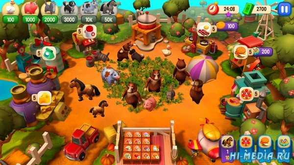 Farm Frenzy: Refreshed Collector's Edition (2020) RUS