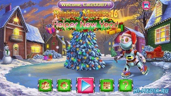 Rainbow Mosaics 16: Helper New Year (2020) ENG