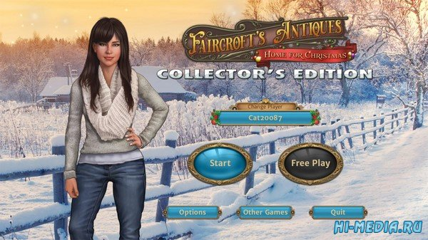 Faircroft's Antiques 3: Home for Christmas Collector's Edition (2020) ENG