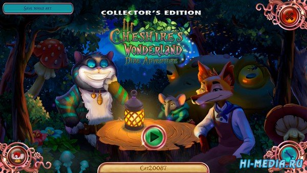 Cheshire's Wonderland: Dire Adventure Collector's Edition (2021) RUS