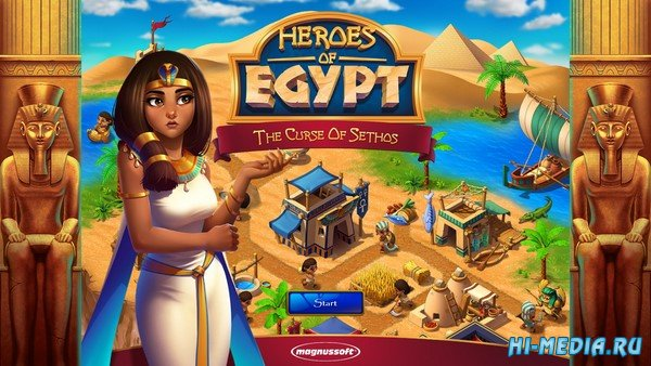 Heroes of Egypt: The Curse of Sethos (2021) ENG